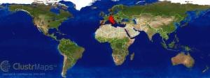 Mappa accessi blog